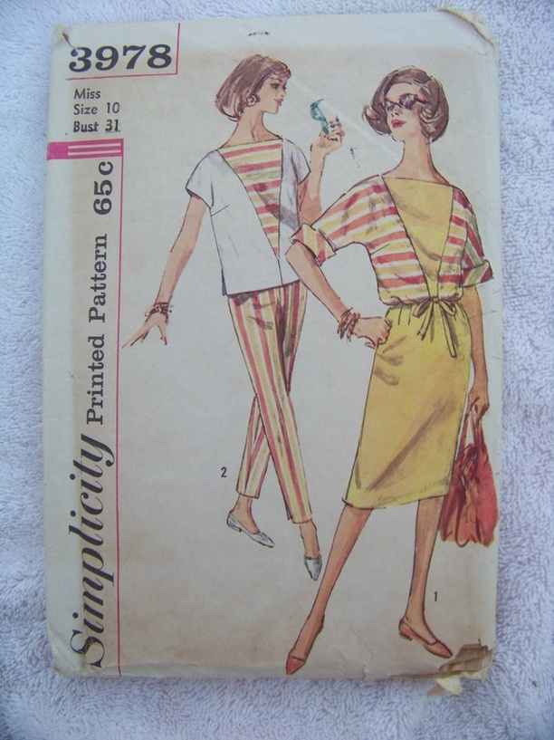 Simplicity 3978, Sewing Pattern, Backwater Studio