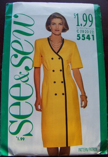 See & Sew 5541, Sewing Pattern, Backwater Studio