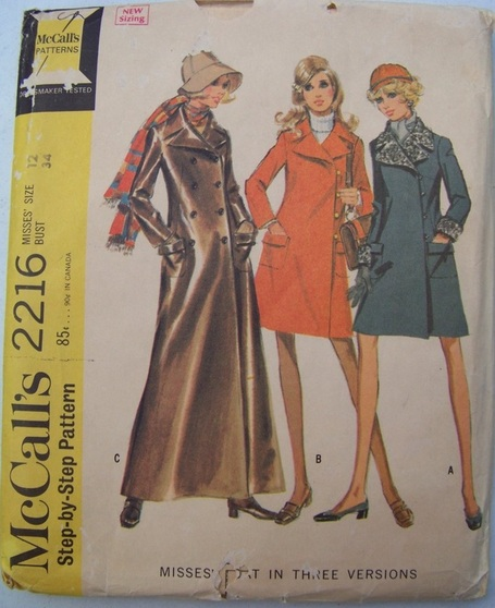 McCalls 2216, Sewing Pattern, Backwater Studio