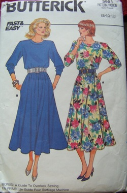 Butterick 3951, Backwater Studio