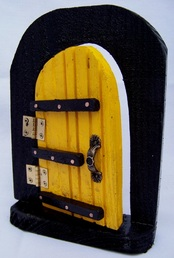 Fairy Gard Door, Backwater Studio, Folk Art, Missisisppi