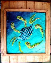 Backwater Studio, Fiesta Crab, Folk Art, Mississippi