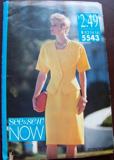 See & Sew 5543, Sewing Pattern, Backwater Studio