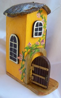 Turtle Fairy House, Backwater Studio, Folk Art, Missisisppi