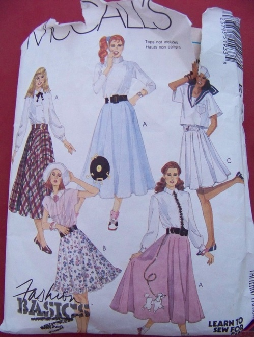McCalls 5193, Sewing Pattern, Backwater Studio
