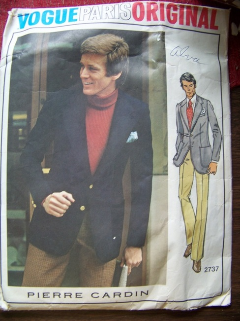 Vogue 2737, Mens, Sewing Pattern, Backwater Studio