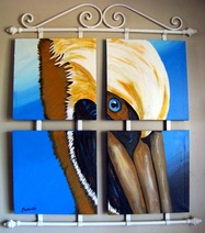 Eye on the Pelican, Backwater Studio, Folk Art, Mississippi, Kathleen Johnson