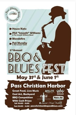Pass Christian BBQ and Blues Fest, Backwater Studio